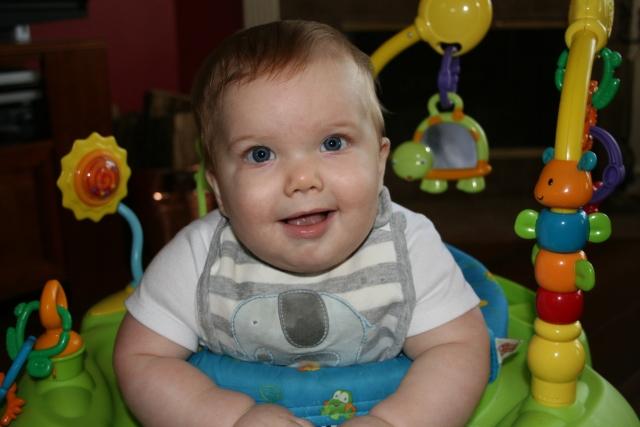 Wyatt, he is one happy little boy