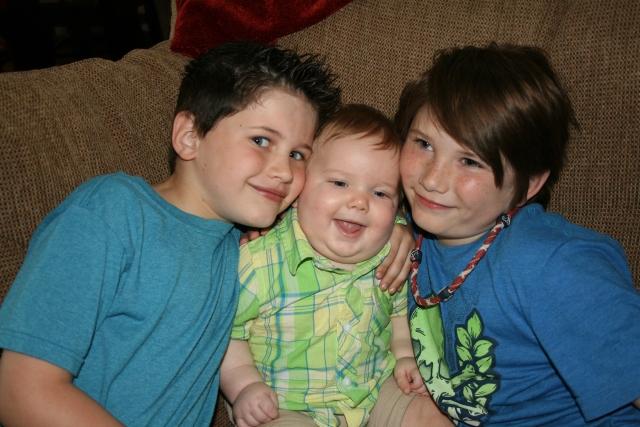 Dylan, Wyatt and Jaiden
