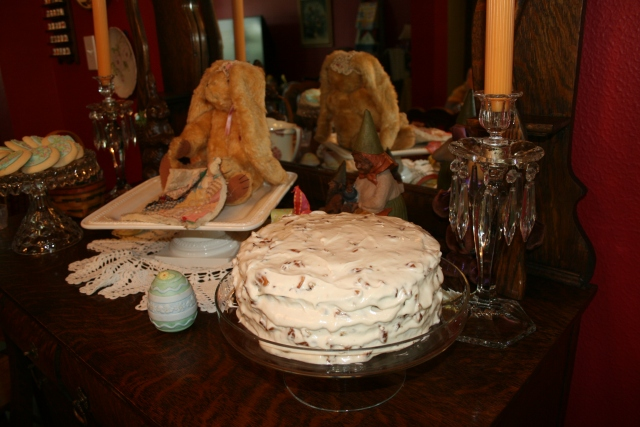 the star Carrot Cake