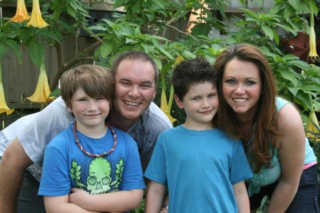 Jaiden, Josh, Dylan and Angela