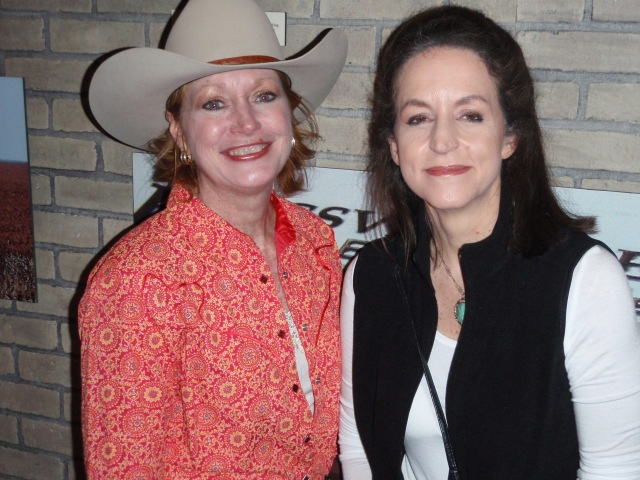 Kari Moren and myself at rodeo