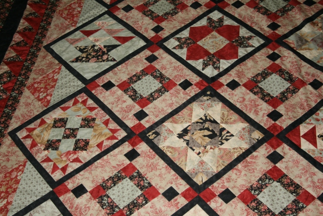 Shop hop from quilt show 2010, started 6/1/2011, finished 7/10/2011