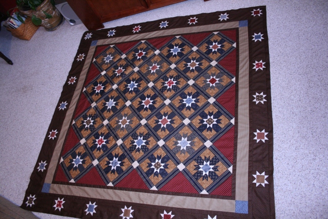 Victory Star by Red Crinoline Quilts