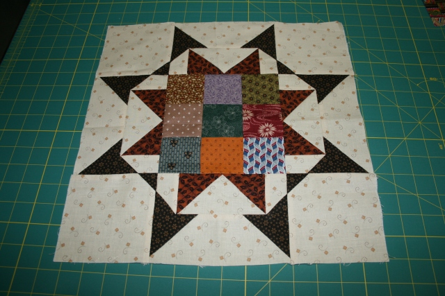 my newest block from Nancy Pockington
