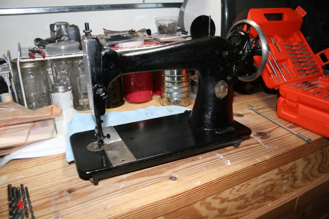 the clean sewing machine