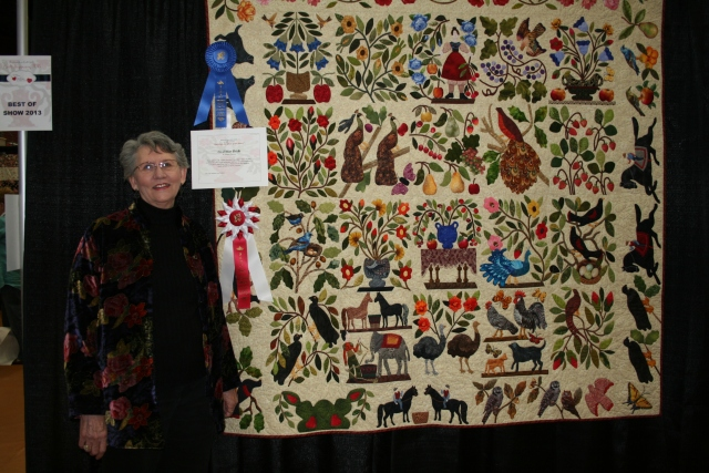 this is Hester's quilt