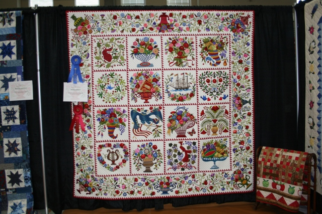 this is Ms Marian's quilt