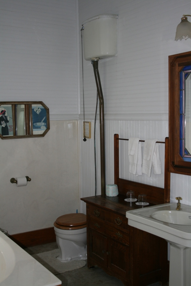 this is my bathroom, I love this toilet!