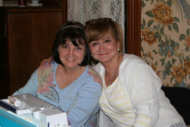 Cheryl and Connie