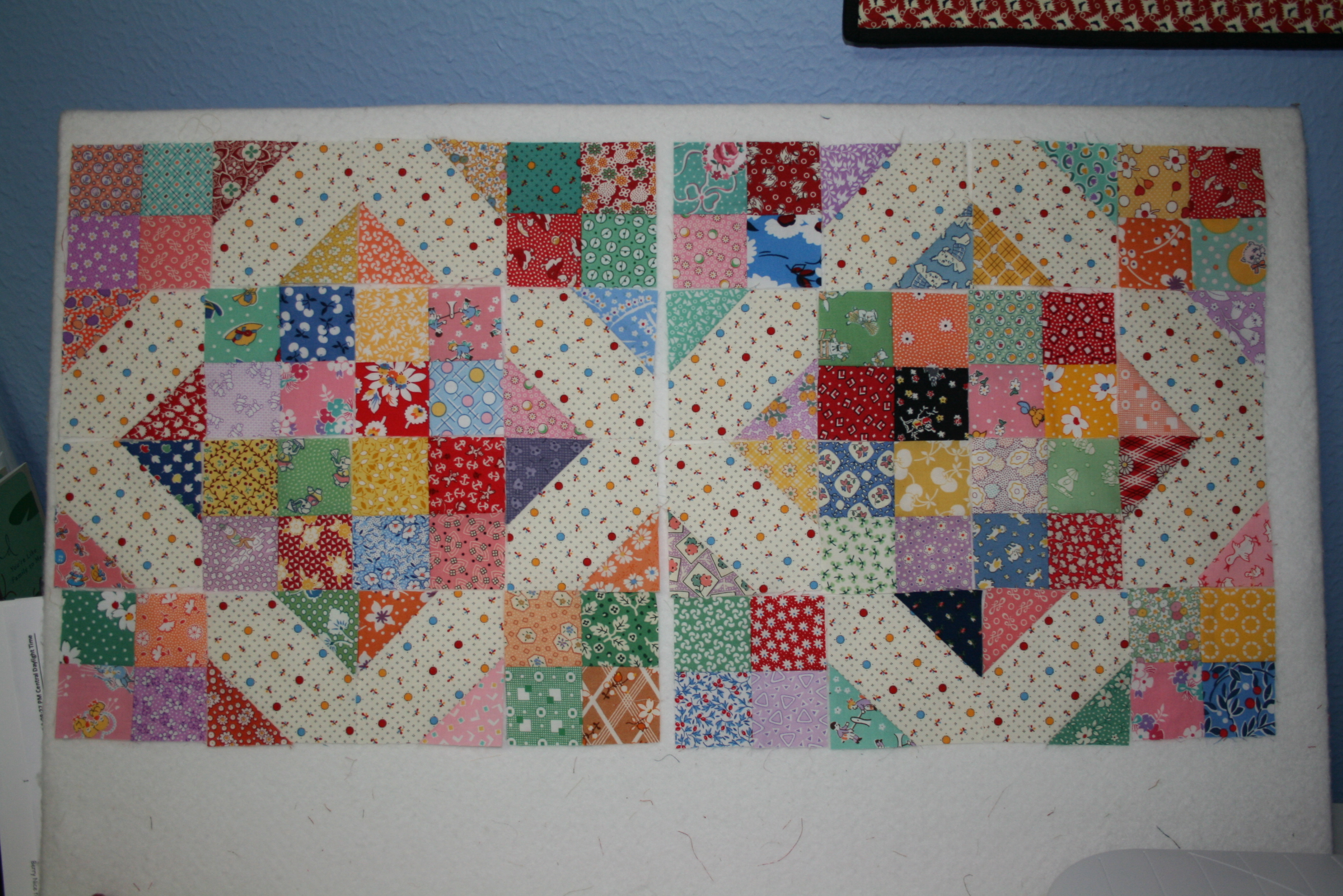 arkansas crossroads quilt instructions