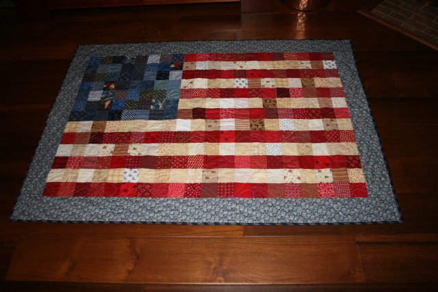 my flag quilt
