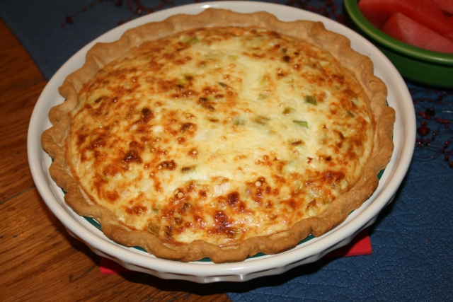 my crab quiche