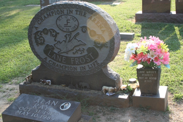 marker for Lane Frost