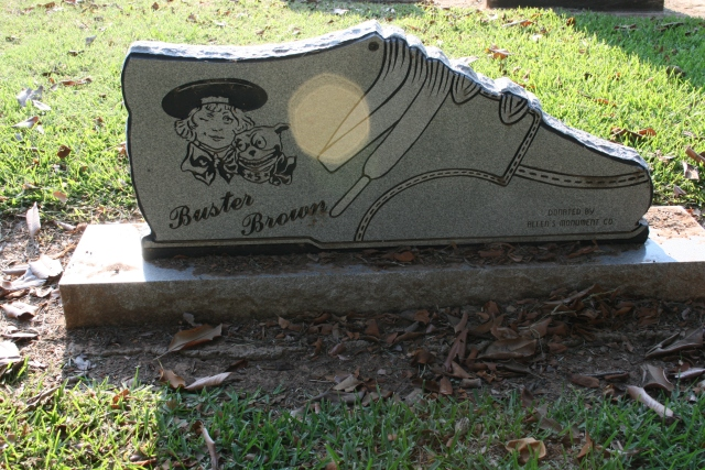 do you remember Buster Brown shoes?