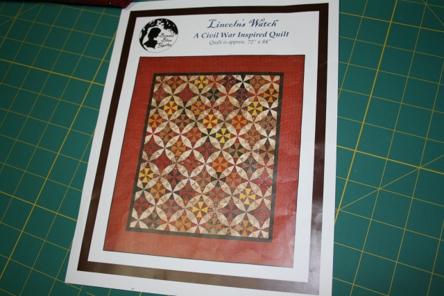 Lincoln's Watch by Red Crinoline Quilts