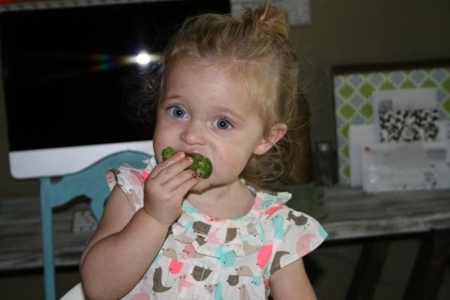 more broccoli