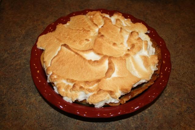 Kyle's chocolate pie