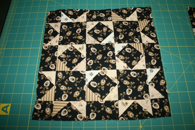 one completed square