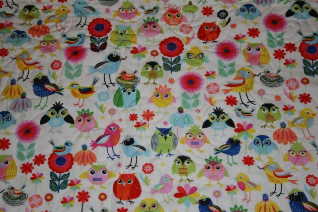 I love the cute backing fabric