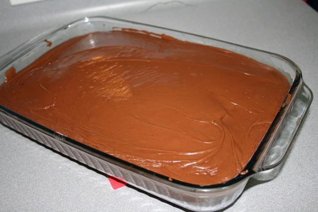 yummy chocolate Sheet Cake