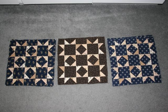 2 x 3 = 6 more blocks