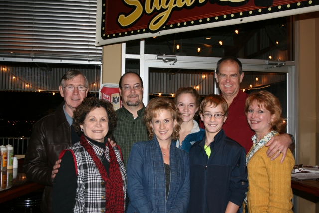 our family there at Sugar Ray's BBQ