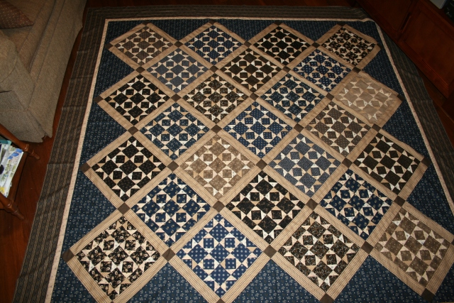 Tavern Blues by Red Crinoline Quilts!