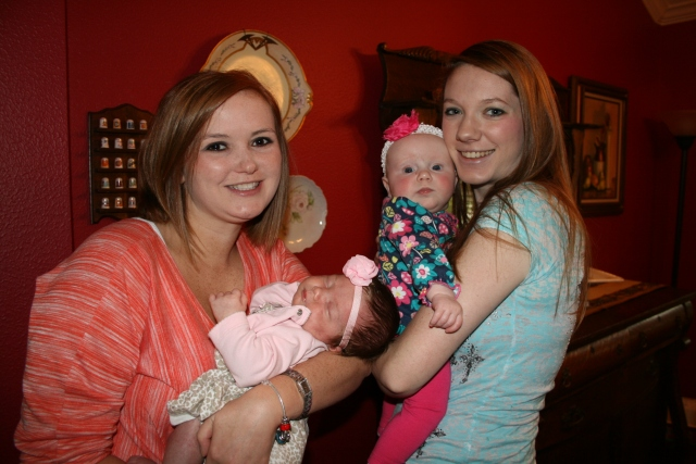Kara, Kynlee, Adley and Katie