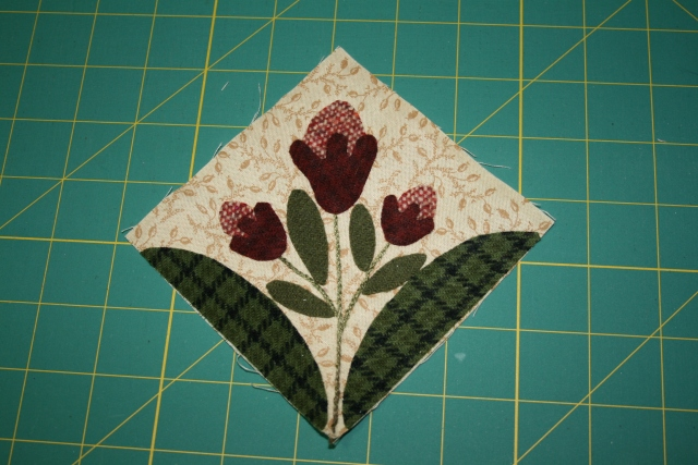 another mini block ready to stitch