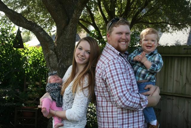 Kynlee, Katie, Joseph and Wyatt