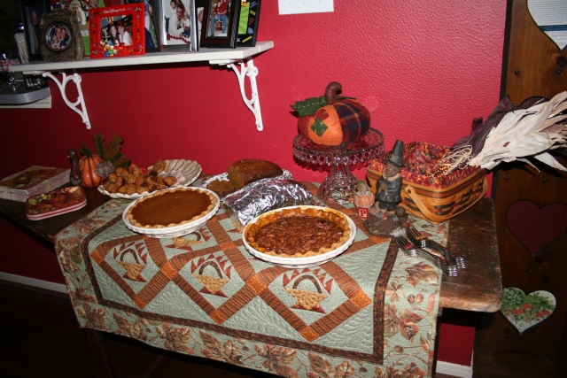 the dessert, snack table