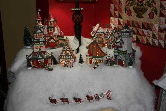 my north pole houses