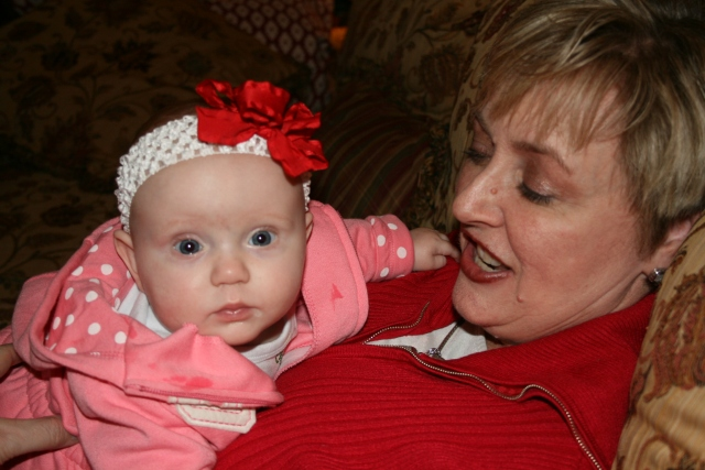 Adley meeting Aunt Penny