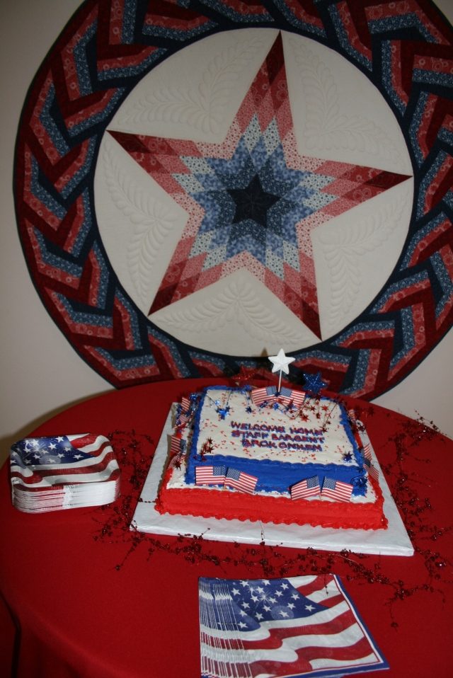my Lone star and cake