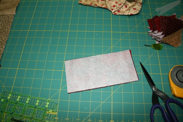 my wool with the fusible