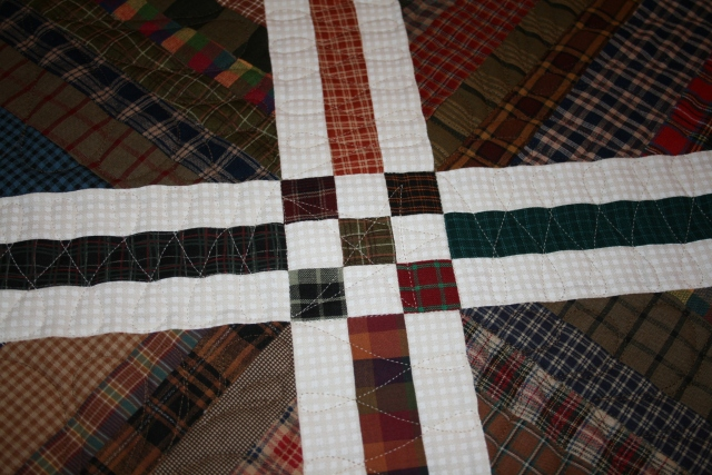 some of Cathy's quilting