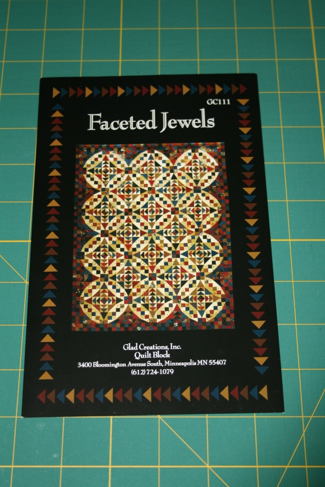 Faceted Jewel pattern cover