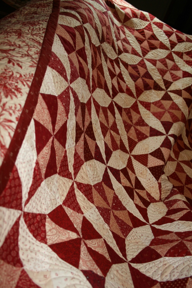 a side view so you can see the quilting