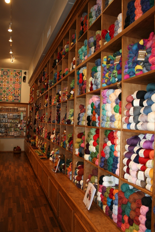 look at all the yarn