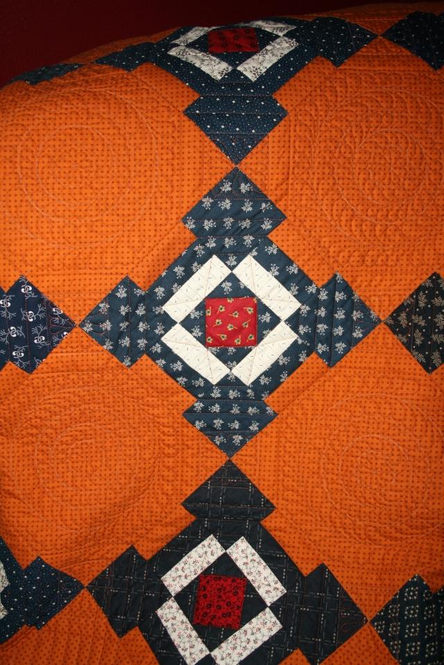 my Lydia quilt