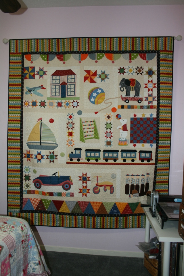 my Playtime quilt