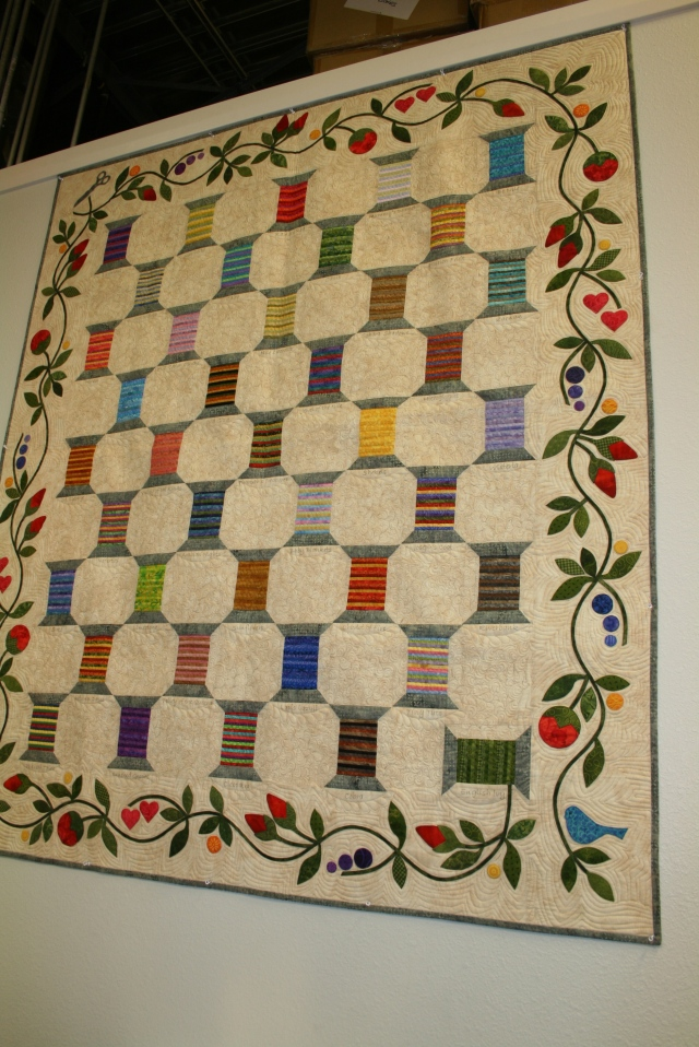 they even had a Thread Quilt