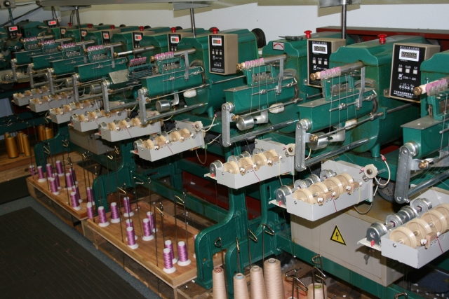 this is where the bobbins are made