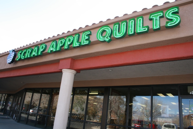 outside of Scrap Apple Quilts