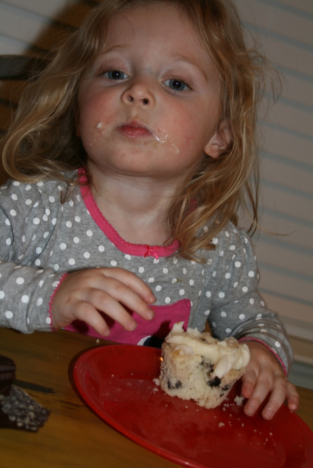 "Hailey likes her ""pancake"""