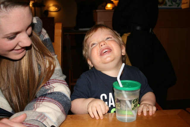 happy boy Wyatt