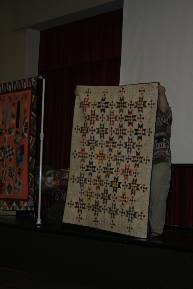 I loved this quilt someone in the guild made