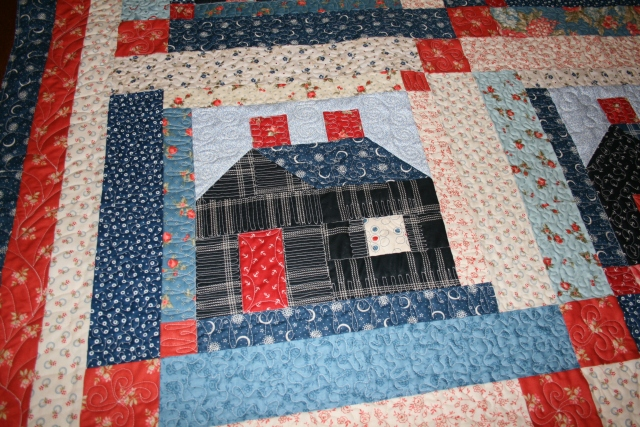 and I liked how this one looks like a log cabin
