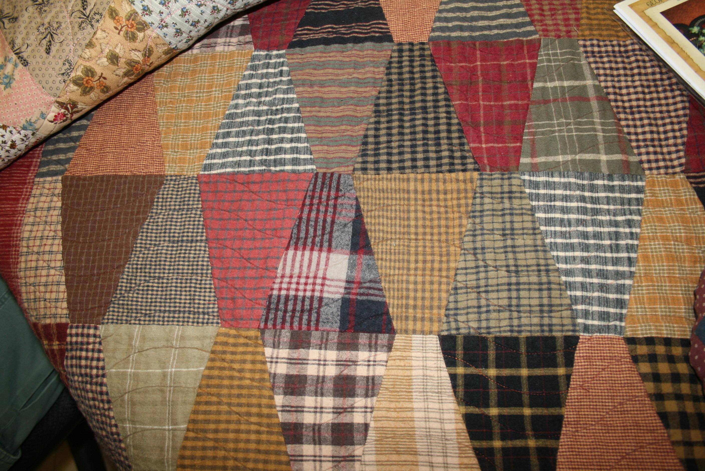 Churn Dashing Away!   and sew it began : homespun quilts - Adamdwight.com