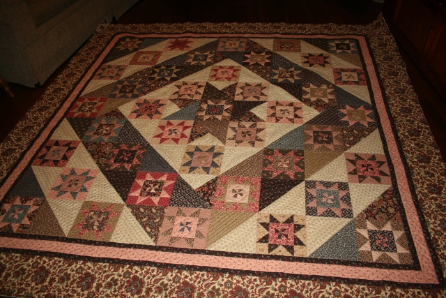 Elizabeth all quilted